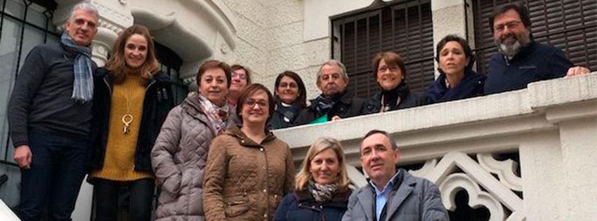 Junta directiva y lanzamiento del encuentro en Ávila