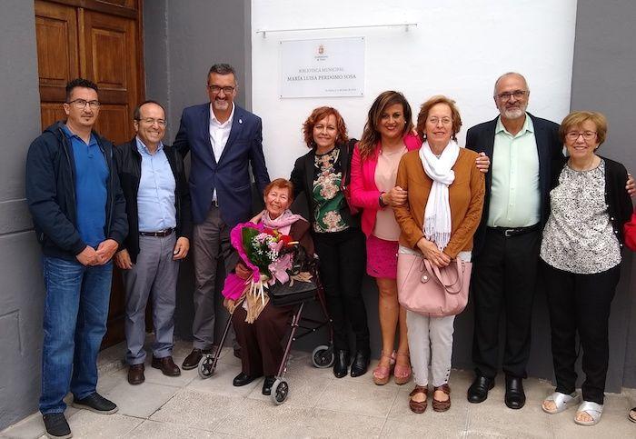 Con el Alcalde y concejales