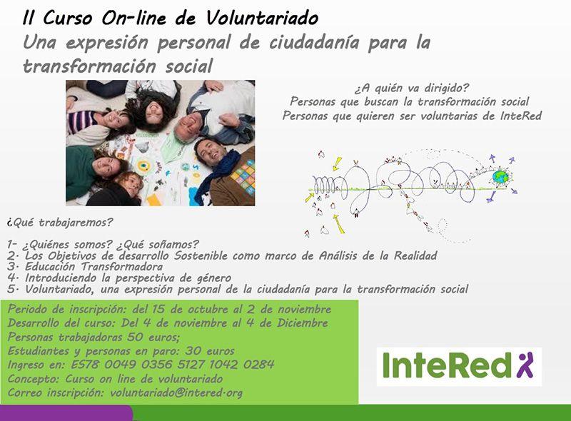 intered voluntariado on line
