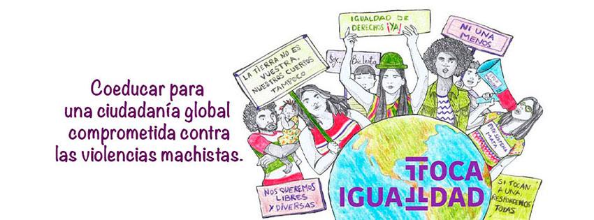 Toca Igualdad. Campaña institucional de InteRed