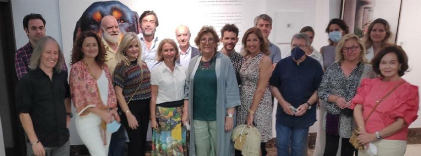 Exposición solidaria 'Trazando sueños'